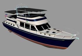 Яхта будущего не использующая топливо
