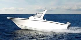 Новое рыболовное судно от компании Yamaha