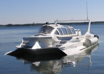 Катер для подводного плавания - Hyper-Sub