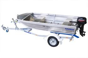 Легкая алюминиевая лодка для рыбалки