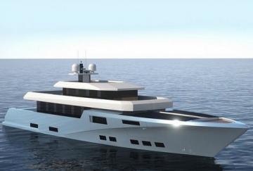 Первая в мире электрическая яхта