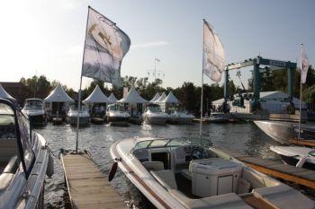 Первая в московском сезоне выставка яхт на воде BIBS