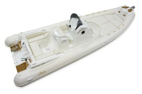 Итальянская надувная лодка класса люкс
