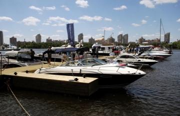 В Киеве проходит выставка яхт