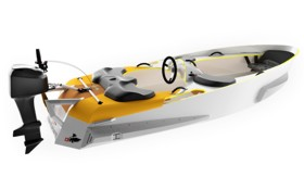 Легкая непотопляемая лодка Marinekart