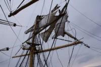 Сломалась мачта яхты Прометей