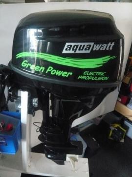 Aquawatt - самый мощный подвесной электромотор