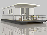Лодка хаусбот H2home