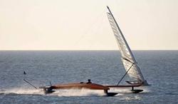 Парусная лодка VESTAS Sailrocket 2