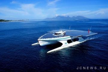 Лодка на солнечных батареях завершила кругосветное путешествие