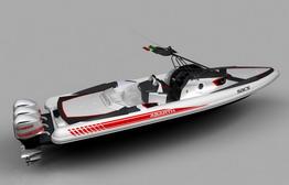 Гоночная моторная лодка