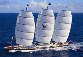 Самая дорогая в мире парусная яхта нашла нового владельца