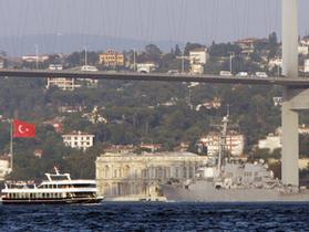В Черном море затонуло грузовое судно