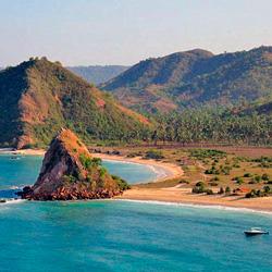Балийский пляж завален тухлой рыбой