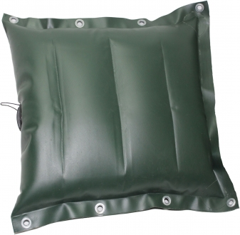 Подушка байдарочная надувная ПВХ усиленная ПБНУ-850 Зеленая