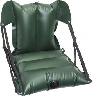 Кресло байдарочное ПВХ надувное усиленное КБНУ-850 2 х (37х37х11) Зеленое