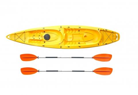 Каяк туристический Riverday Twin Wave желтый