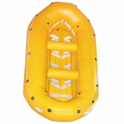 Рафт надувной Ладья ЛР-430 - 8+1 желтый