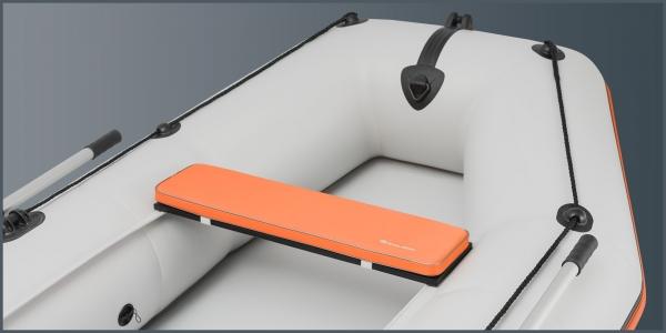 Мягкое сиденье Kolibri K-280СТ, K-300СT, КМ-200, КМ-260, КМ-280 оранжевое