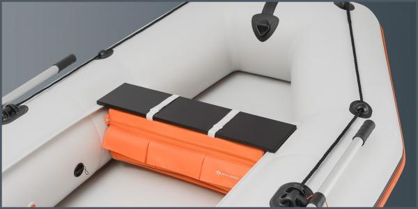 Сумка-рундук под сиденье Колибри для моделей К-220 - К-280Т, K-280CT, К-250Т - K-290T, КМ-200 - КМ-280 оранжевая