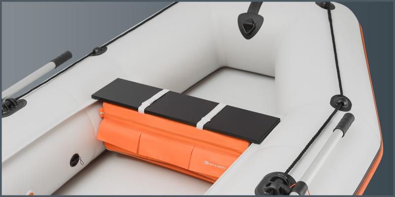 Сумка-рундук под сиденье Колибри для моделей К-220 - К-280Т, K-280CT, К-250Т - K-290T, КМ-200 - КМ-280 черная