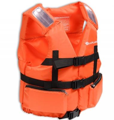 Жилет страховочный в лодку Колибри 70-90 кг (оранжевый)
