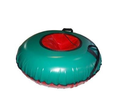 Тюбинг надувной Лисичанка (Омега) 100 см, зеленый
