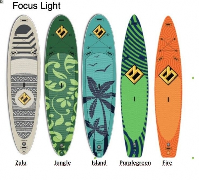 "SUP-board Focus SUP Hawaii 10'6 x 32"" x 5"" Light Island"