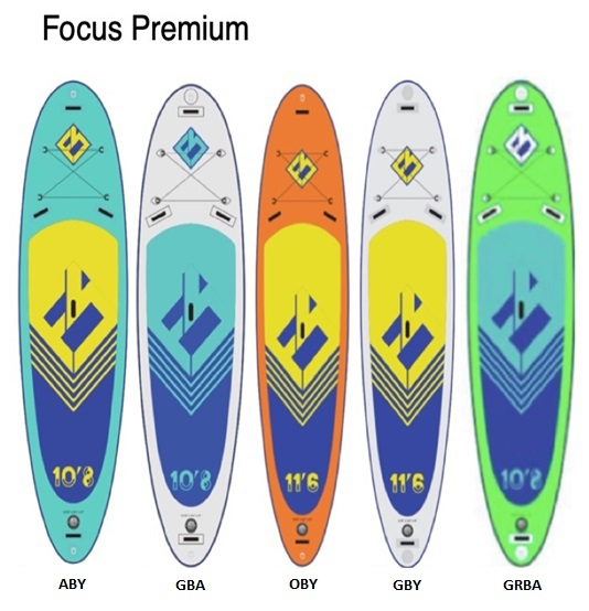 "Надувной Сап Focus SUP Hawaii 10'6 x 32"" x 6"" Premium DL GRBA"