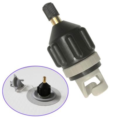 Адаптер универсальный к автомобильному насосу и лодочному клапану