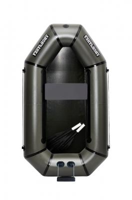 Надувная Лодка Лисичанка Л-190ПТ, гребки, навесной транец, без настила