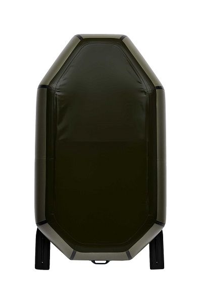 Надувная Лодка Лисичанка Л-190СПУ, весла, слань-коврик, передвижное сиденье