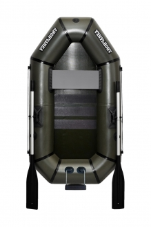 Надувная Лодка Лисичанка Л-190СТУ, весла, слань-коврик, навесной транец