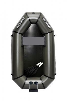 Надувная Лодка Лисичанка Л-190Т, гребки, навесной транец, без настила
