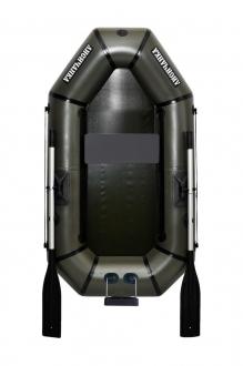 Надувная Лодка Лисичанка Л-190ТПУ, весла, навесной транец, без настила