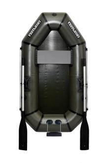 Надувная Лодка Лисичанка Л-190ТУ, весла, навесной транец, без настила