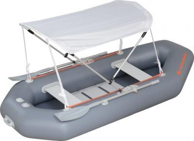 Тент от солнца для лодки ПВХ К-220, К-240, К-250T, К-260Т, К-280T, K-270T (белый)