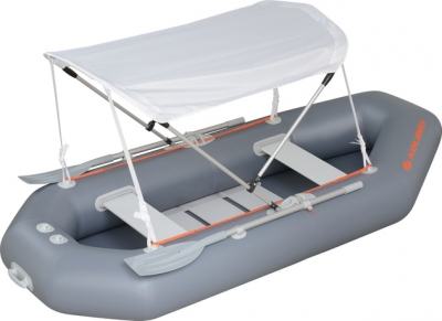 Тент от солнца для лодки ПВХ К-220, К-240, К-250T, К-260Т, К-280T, K-270T (камуфляж)