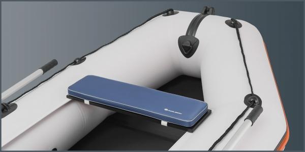Мягкое сиденье Kolibri K-280СТ, K-300СT, КМ-200, КМ-260, КМ-280 синее