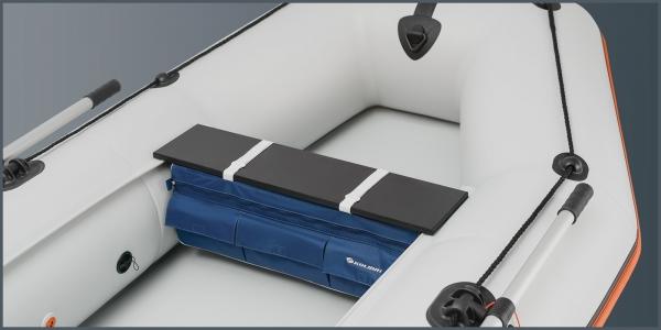 Сумка-рундук под сиденье Колибри для моделей KM-400DSL, КM-450DSL синяя