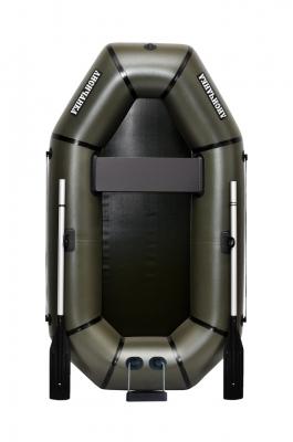 Надувная Лодка Лисичанка Л-210T, без настила, с навесным транцем