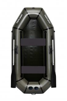Надувная Лодка Лисичанка Л-240ПУ, лодка без настила, с передвижными сиденьями