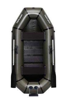 Надувная Лодка ПВХ Лисичанка Л-240СТУ, лодка со слань-ковриком