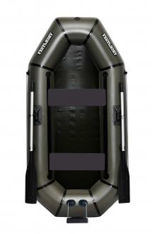 Надувная Лодка пвх Лисичанка Л-240ТПУ, без настила, с передвижными сиденьями и лодка с навесным транцем