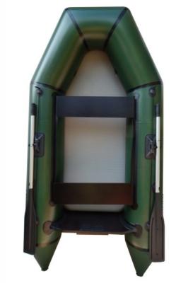 Надувная Лодка Лисичанка ЛМ-270ПБТА, с настилом Airdeck, привальным брусом и усиленным транцем