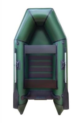 Надувная Лодка Лисичанка ЛМ-270ПБТ, с передвижными сиденьями, привальным брусом и усиленным транцем