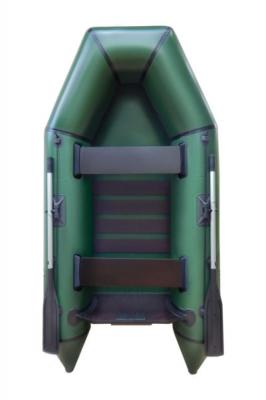 Надувная Лодка Лисичанка ЛМ-270БТ, с привальным брусом и усиленным транцем