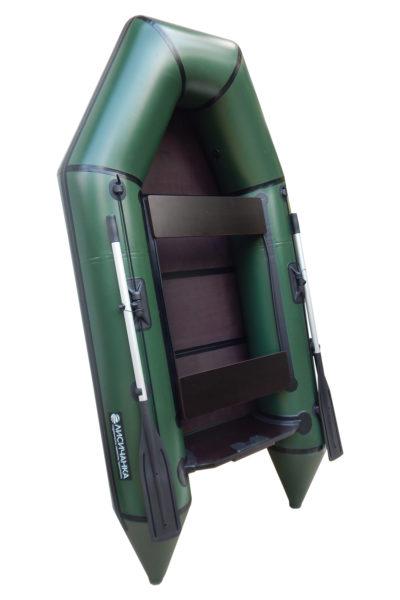 Надувная Лодка Лисичанка ЛМ-270 Фортуна-1 со слань-книжкой, привальным брусом и усиленным транцем