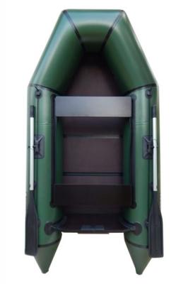Надувная Лодка Лисичанка ЛМ-270ПБТН, со слань-книжкой, привальным брусом и усиленным транцем