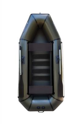 Надувная Лодка Лисичанка Л-280СП, со слань-ковриком и передвижными сиденьями